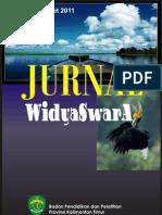 Jurnalwidyaswara Vol.1/ No.1 Maret 2011