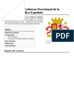 Anexo Primer Gobierno Provisional de La Segunda República Española