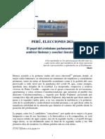 PCP - Perú, Elecciones 2021