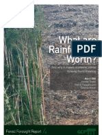 What are Rainforests Worth?