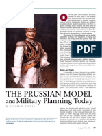 Prussia military model