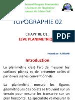 Chap 5 - Levé plaminétrique