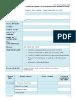 Exemple Plan d'Audit SMQ