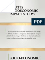 Socio Economic Impact of a Business Report