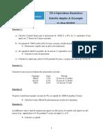 TD4_Intérêt simple  Escompte