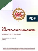 425 Aniversario Fundacional (1)