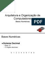 AOC - Aula 02 - Bases Numéricas