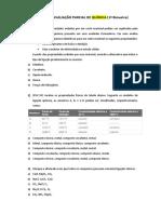 Simulado de Química - Balanceamento de Equações Químicas
