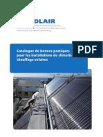 Catalogue de Bonnes Pratiques Pour Les Installations de Climatisation_ Chauffage Solaires