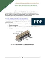 chapitre 2 Descente des charges et pré dimensionnement des éléments