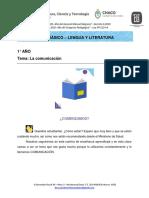 1er año_LENGUA Y LITERATURA_La comunicación