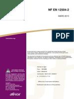 NF EN 12504-2 Mars 2013 Essais non destructifs-Détermination de l'indice de rebondissement