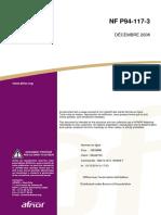 NF P94-117-3 Décembre 2008 Coefficient de réaction de WESTERGAARD sous chargement statique d'une plaque