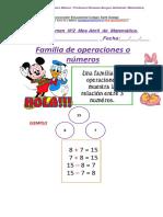 Matemática 3º Básicos Blanco- Azul Guía Resumen N º2 ABRIL