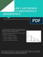 PPT MEDIOS HIPER, HIPO E  ISOTÓNICO