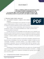 Retos Actuales de La Formación en Investigación Cualitativa
