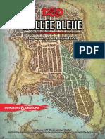 DD5 Scénario L'Allée Bleue Niv 2 (1 à 5) - Eauprofonde