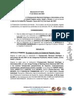 Resolución I Nacional interligas 2021- CAUCA