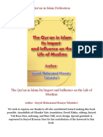 The Qur'an in Islam Its Impact and Influence on the Life of Muslims