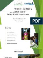 Charla Medio Ambiente, Contaminación y Estilos de vida sustentable Quilacahuin
