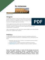 CIVILIZAÇÃO ROMANA (1)