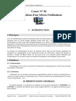 Cours Presentation d Un Micro Ordinateur (1)