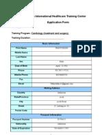 2010 Application Form
