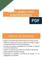 Comités, equipos y toma de decisiones