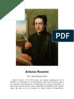 Antonio Rosmini-Jhon Searle
