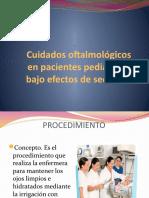 Cuidados oftalmológicos en pacientes pediátricos