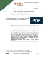 Artigo - Contribuições ao estudo do associativismo docente