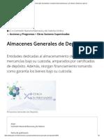 Almacenes Generales de Depósito _ Comisión Nacional Bancaria y de Valores _ Gobierno _ gob.mx