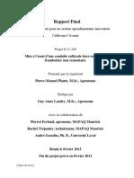 Rapport Final PASAI 2012