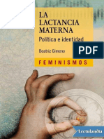 La Lactancia Materna Política e identidad  - Beatriz Gimeno