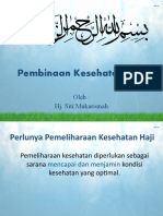 Pembinaan Kesehatan Haji
