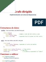 implementacion grafos