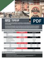 Ficha Tecnica Cemento Frontera Ip