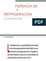 1. Transferencia de Calor y Refrigeración
