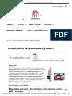 Producto _ Medidor de resistencia estática y dinámica _ Editores