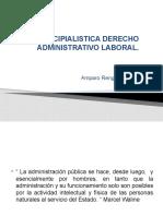 CAPITULO II.- PRINCIPIALISTICA DERECHO ADMINISTRATIVO LABORAL