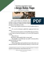 La bruja Baba-Yaga Ilustrado por Ivan Bilibin