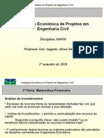 Avaliação Economica - 1