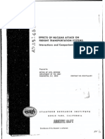 Effects of Nuclear Attack on Freight Transportation Systems