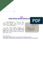 [AyoCariRumah.Com] Tips Bikin Anting-Anting Kristal Kotak CD, Make a CD Box Earring Crystal
