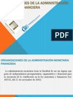 Organizaciones de La Administración Monetaria Financiera (2)