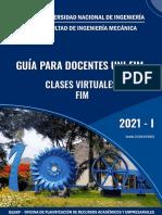 01 Guia para docentes UNI FIM 2021-1