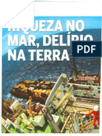 RIQUEZA NO MAR, DELÍRIO NA TERRA