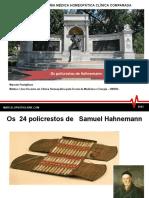 1. Os 24 Policrestos de Hahnemann