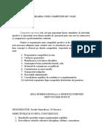 SPATARIU ALEXANDRA EFS ANUL III ORGANIZAREA UNEI COMPETITII DE VOLEI