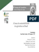 Agroecologia - conceitos e principios